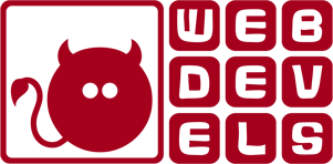 WebDevels …wir stecken im Detail! Logo